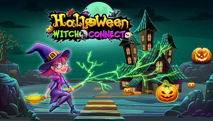 Halloween Witch Connect