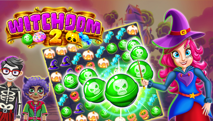 Witchdom 2 – Halloween Puzzle