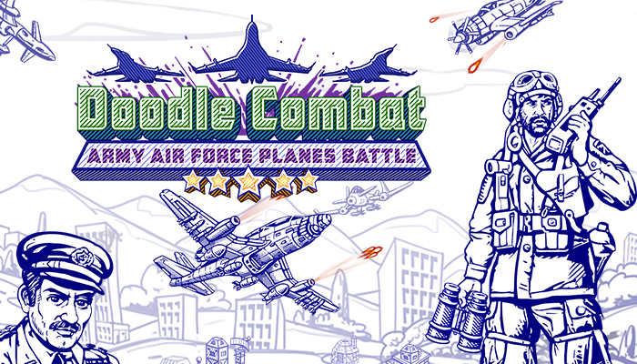 Doodle Combat – Army Air Force Planes Battle